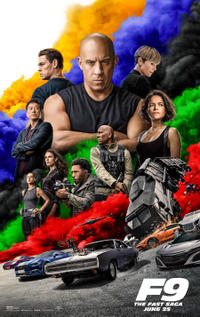 F9 FAST FURIOUS poster